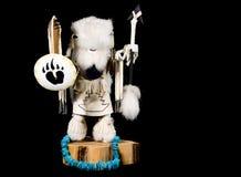 Bambola di Kachina - guerriero della Buffalo immagine stock libera da diritti