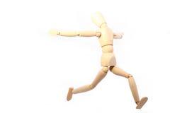 Bambola di legno Immagini Stock
