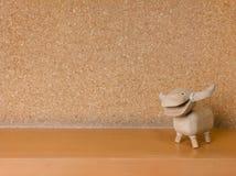 Bambola di legno della Buffalo Fotografie Stock