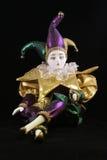 Bambola di Mardi Gras Fotografia Stock Libera da Diritti