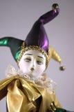 Bambola di Mardi Gras Immagini Stock Libere da Diritti