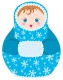 Bambola di Matrioshka Fotografia Stock