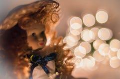 Bambola di Natale Fotografia Stock