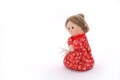 Bambola di panno Fotografia Stock Libera da Diritti