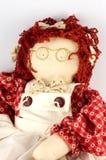 Bambola di panno Immagini Stock