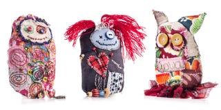 Bambola di panno Handmade Fotografia Stock Libera da Diritti