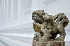 Bambola di pietra del leone Fotografie Stock