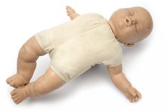 Bambola di sonno Immagini Stock