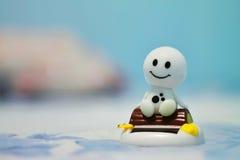 Bambola di sorriso Fotografia Stock