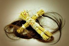 Bambola di voodoo Fotografie Stock Libere da Diritti