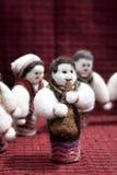 Bambola e balli di piega Immagine Stock