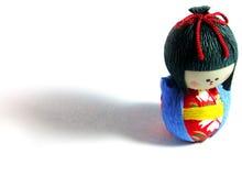 Bambola ed ombra di carta Fotografia Stock Libera da Diritti