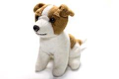 Bambola farcita del cane Fotografia Stock
