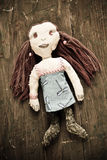 Bambola fatta a mano immagine stock libera da diritti