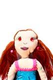 Bambola fatta a mano fotografia stock libera da diritti