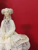 Bambola fatta a mano Fotografie Stock