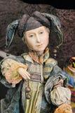 Bambola fatta a mano Fotografie Stock Libere da Diritti