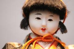 Bambola giapponese Fotografie Stock