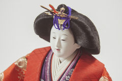 Bambola giapponese Fotografia Stock Libera da Diritti