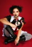 Bambola indonesiana di Goth fotografie stock