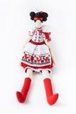 Bambola lavorata a maglia Immagini Stock Libere da Diritti