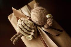 Bambola lavorata a maglia Immagine Stock Libera da Diritti