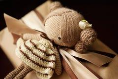 Bambola lavorata a maglia Fotografie Stock Libere da Diritti