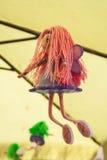 Bambola leggiadramente fatta a mano Immagine Stock Libera da Diritti