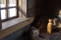 Bambola nordica d'annata Immagine Stock Libera da Diritti