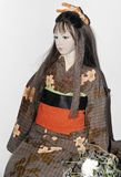 Bambola raccoglibile del giunto a sfera di OOAK da Otake Kyo Japan Immagine Stock Libera da Diritti
