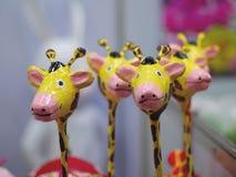 Bambola rosa della zebra immagini stock