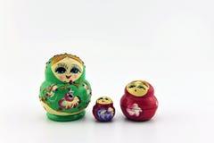Bambola rotonda Immagine Stock