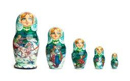 Bambola russa Fotografia Stock