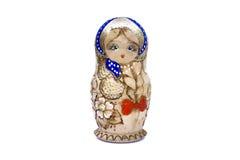 Bambola russa d'annata Immagine Stock Libera da Diritti