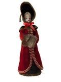 Bambola russa della regina Immagini Stock
