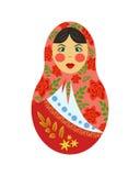 Bambola russa di incastramento Fotografia Stock Libera da Diritti