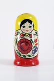 bambola russa di incastramento di matryoshka Fotografie Stock