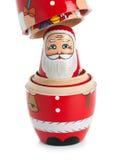 Bambola russa scoperta di incastramento Immagine Stock Libera da Diritti
