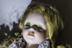 Bambola spaventosa immagini stock