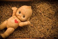 Bambola sporca fotografia stock