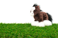 Bambola sveglia del cavallino Fotografie Stock Libere da Diritti