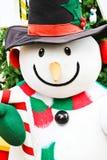 Bambola sveglia del pupazzo di neve Immagini Stock Libere da Diritti