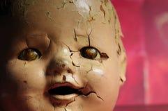 Bambola terrificante fotografia stock