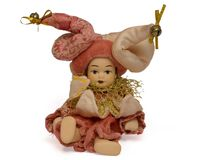 Bambola veneziana fotografia stock