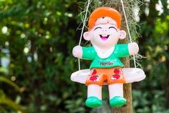 Bambole al forno dell'argilla Immagini Stock Libere da Diritti