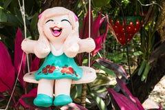 Bambole al forno dell'argilla Fotografia Stock