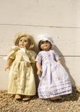 Bambole americane della ragazza Immagini Stock Libere da Diritti