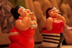 Bambole Charming della ragazza fotografie stock libere da diritti