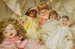 Bambole d'annata fotografie stock libere da diritti