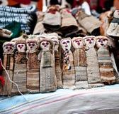 Bambole da vendere in Otavalo Fotografie Stock